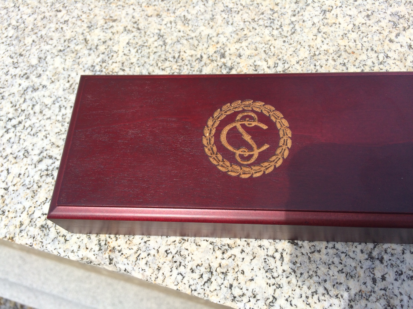 Engraved Box for Supreme Court