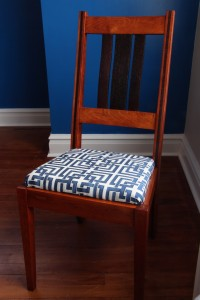 Cherry and Wenge Chair